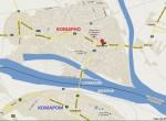 Komarno_Komarom_map